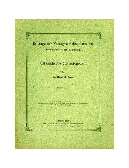 Abbildung von Ostasiatische Stomatopoden | 1. Auflage | 1910 | beck-shop.de