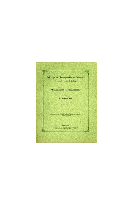 Cover: , Ostasiatische Stomatopoden