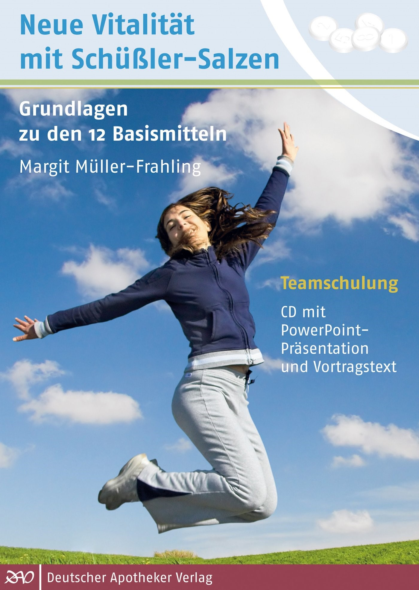Teamschulung: Neue Vitalität mit Schüßler-Salzen | Müller-Frahling, 2011 (Cover)