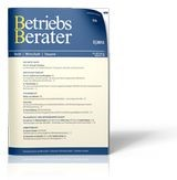 Betriebs-Berater: BB (Cover)
