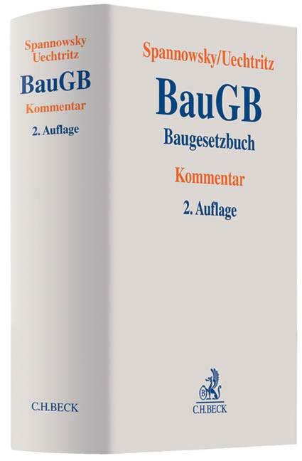 Baugesetzbuch: BauGB | Spannowsky / Uechtritz | 2. Auflage, 2013 | Buch (Cover)