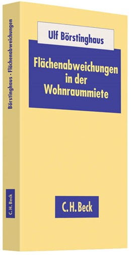Abbildung von Börstinghaus | Flächenabweichungen in der Wohnraummiete | 2012