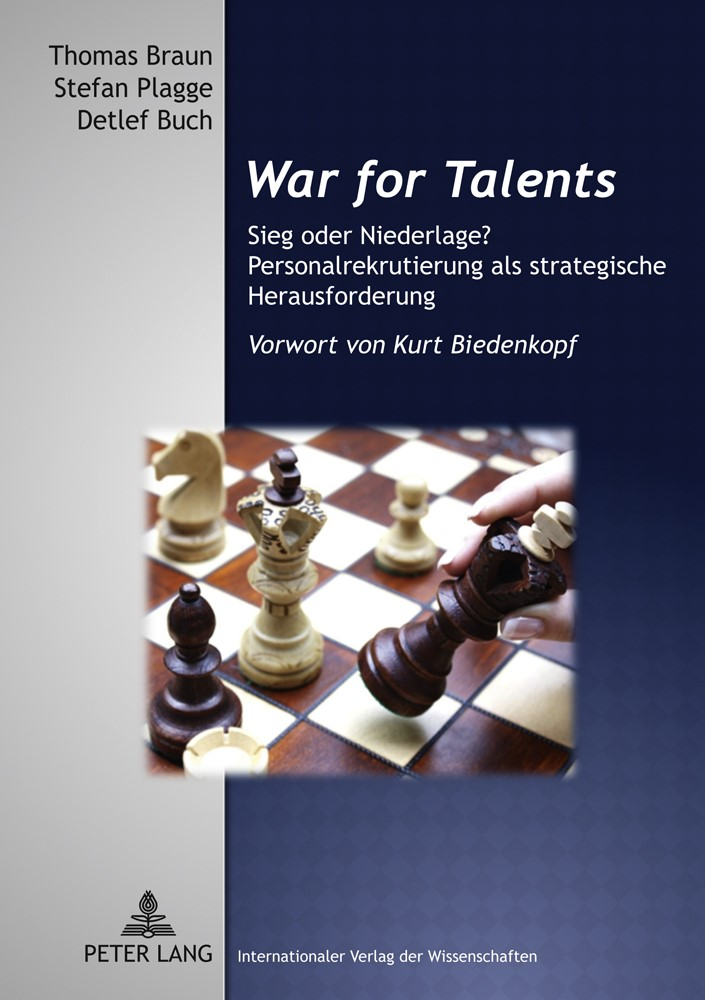 War for Talents | Braun / Buch / Plagge, 2011 | Buch (Cover)