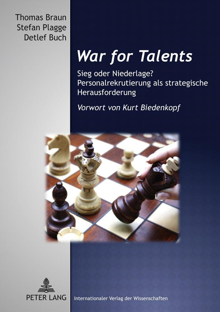 Abbildung von Braun / Buch / Plagge | War for Talents | 2011