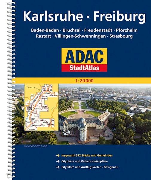ADAC Stadtatlas Karlsruhe / Freiburg | 1. Auflage, 2011 (Cover)