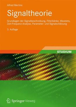 Abbildung von Mertins | Signaltheorie | 3., überarb. u. erw. Aufl. 2013 | 2012 | Grundlagen der Signalbeschreib...