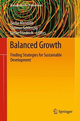 Abbildung von Mennillo / Schlenzig / Friedrich | Balanced Growth | 1. Auflage 2012 | 2011 | Finding Strategies for Sustain...