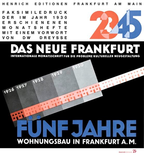 Ernst May: DAS NEUE FRANKFURT | Dreysee, 2011 | Buch (Cover)
