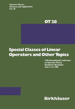 Abbildung von Arsene / Helson | Special Classes of Linear Operators and Other Topics | 1988 | 11th International Conference ... | 28