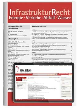 Abbildung von IR • InfrastrukturRecht | 15. Auflage | 2021 | beck-shop.de