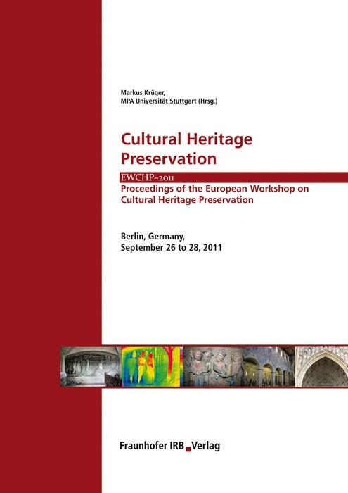 Cultural Heritage Preservation | / Krüger, 2011 | Buch (Cover)