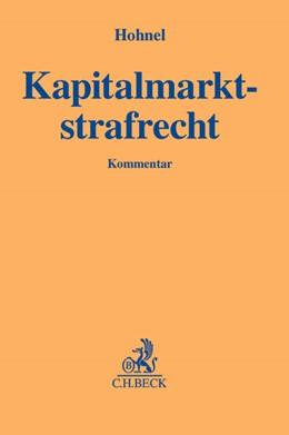 Abbildung von Hohnel | Kapitalmarktstrafrecht | 2013