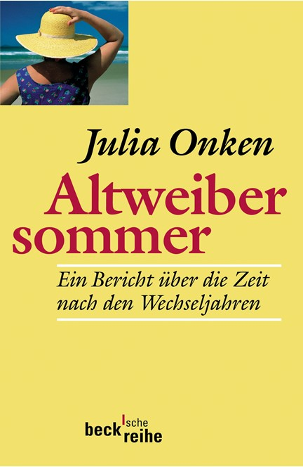 Cover: Julia Onken, Altweibersommer