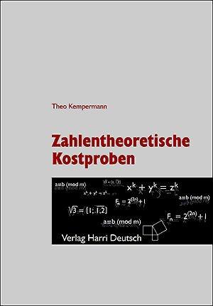 Abbildung von Kempermann | Zahlentheoretische Kostproben | 3., aktual. Aufl. | 2011