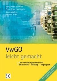VwGO - leicht gemacht | Murken / Jeske | 1. Auflage. 2011, 2011 | Buch (Cover)