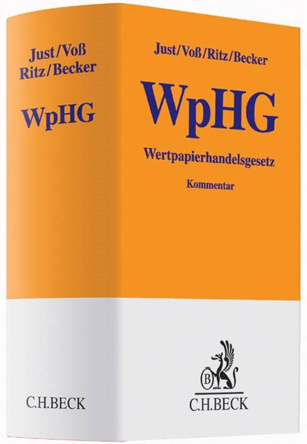 Wertpapierhandelsgesetz (WpHG) | Just / Voß / Ritz / Becker | Buch (Cover)