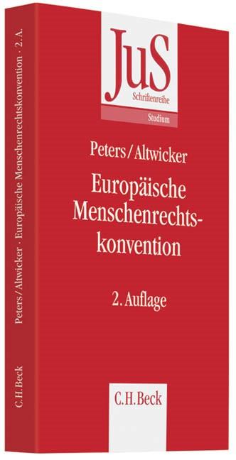 Europäische Menschenrechtskonvention | Peters / Altwicker | 2. Auflage, 2012 | Buch (Cover)