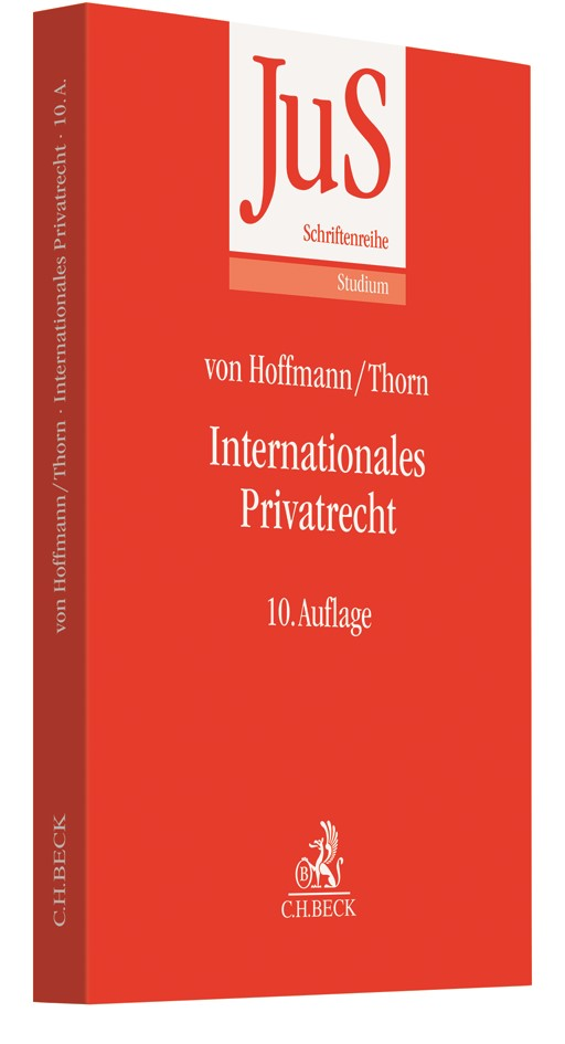 Internationales Privatrecht | v. Hoffmann / Thorn | 10. Auflage, 2019 | Buch (Cover)