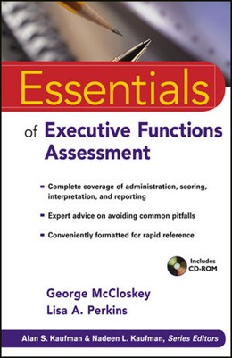 Abbildung von McCloskey / Perkins | Essentials of Executive Functions Assessment | 2013