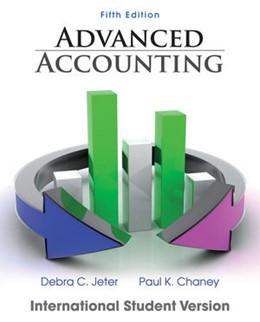 Abbildung von Jeter / Chaney   Advanced Accounting   2012   International Student Version