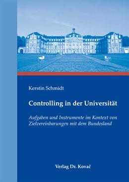 Abbildung von Schmidt | Controlling in der Universität | 1. Auflage 2012 | 2011 | Aufgaben und Instrumente im Ko... | 12