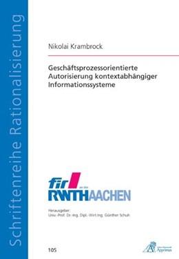 Abbildung von Krambrock | Geschäftsprozessorientierte Autorisierung kontextabhängiger Informationssysteme | 2011