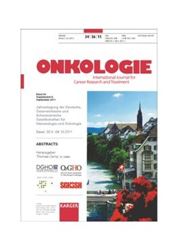 Abbildung von Cerny | Deutsche, Österreichische und Schweizerische Gesellschaften für Hämatologie und Onkologie | 2011 | Jahrestagung, Basel, September...