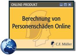 Abbildung von Pardey | Berechnung von Personenschäden - online | 1. Auflage | | beck-shop.de