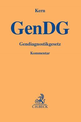 Abbildung von Kern | Gendiagnostikgesetz: GenDG | 2012