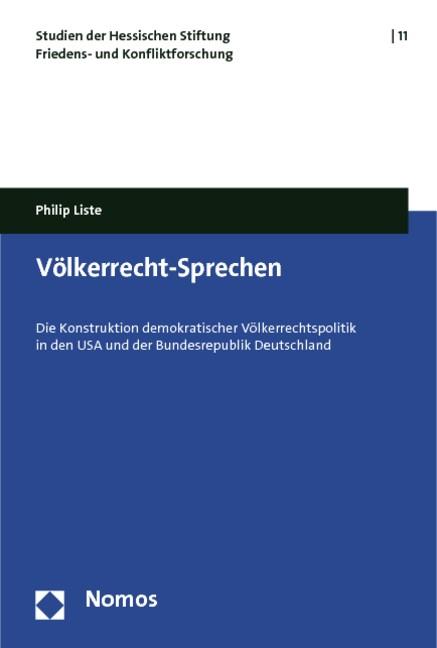 Völkerrecht-Sprechen | Liste, 2011 | Buch (Cover)