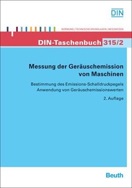 Abbildung von Messung der Geräuschemission von Maschinen   2011   Bestimmung des Emissions-Schal...   315/2