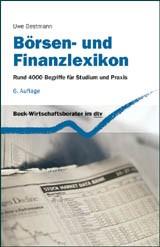 Börsen- und Finanzlexikon | Bestmann | 6., vollständig überarbeitete Auflage, 2012 | Buch (Cover)
