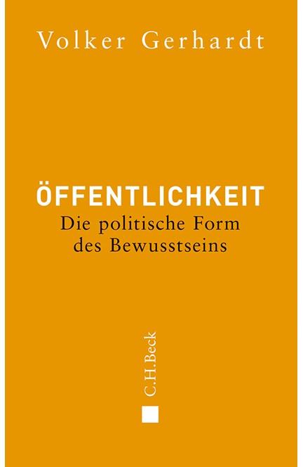 Cover: Volker Gerhardt, Öffentlichkeit