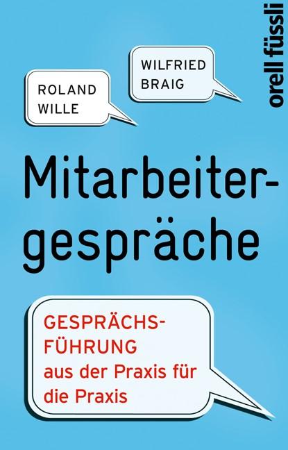 Mitarbeitergespräche   Braig / Wille   7., erw. Aufl., 2011   Buch (Cover)