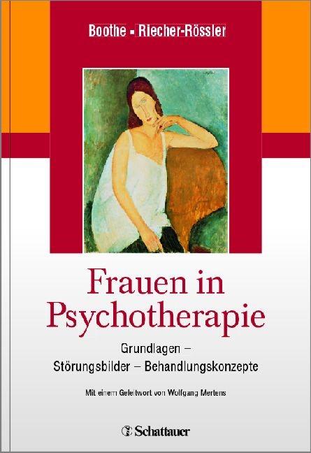 Frauen in Psychotherapie | Boothe / Riecher-Rössler, 2013 | Buch (Cover)