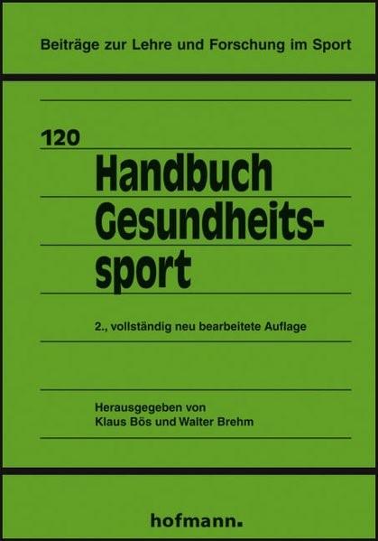 Abbildung von Bös / Brehm | Handbuch Gesundheitssport | 2., vollst. neu bearb. A | 2007