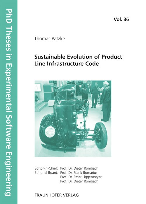 Sustainable Evolution of Product Line Infrastructure Code | / Rombach / Liggesmeyer / Bomarius, 2011 | Buch (Cover)