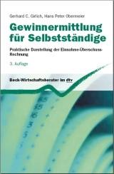 Gewinnermittlung für Selbstständige | Girlich / Obermeier | 3., überarbeitete und erweiterte Auflage, 2009 | Buch (Cover)