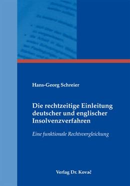 Abbildung von Schreier | Die rechtzeitige Einleitung deutscher und englischer Insolvenzverfahren | 1. Auflage 2012 | 2012 | Eine funktionale Rechtsverglei... | 24