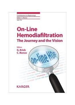 Abbildung von Krick / Ronco | On-Line Hemodiafiltration: The Journey and the Vision | 2011