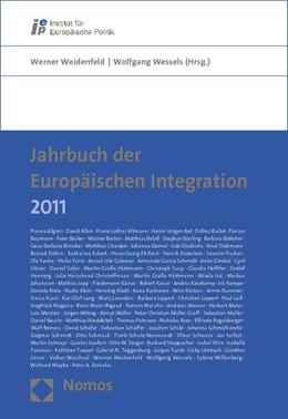 Abbildung von Weidenfeld / Wessels | Jahrbuch der Europäischen Integration 2011 | 1. Auflage | 2011 | beck-shop.de