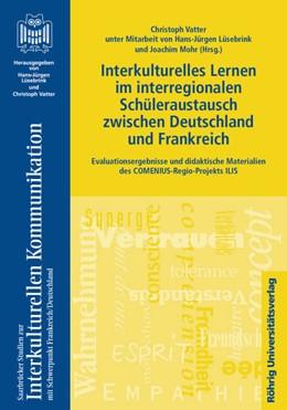 Abbildung von Vatter / Lüsebrink / Mohr | Interkulturelles Lernen im interregionalen Schüleraustausch zwischen Deutschland und Frankreich | 2011 | Evaluationsergebnisse und dida... | 12