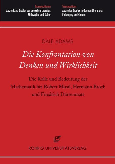 Die Konfrontation von Denken und Wirklichkeit | Adams, 2011 | Buch (Cover)