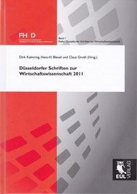 Düsseldorfer Schriften zur Wirtschaftswissenschaft 2011 | Kalmring / Bleuel / Groth, 2011 | Buch (Cover)