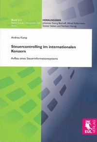 Steuercontrolling im internationalen Konzern | Kamp | 1. Auflage 2011, 2011 | Buch (Cover)