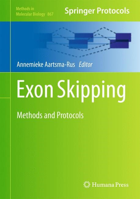 Exon Skipping | Aartsma-Rus, 2012 | Buch (Cover)