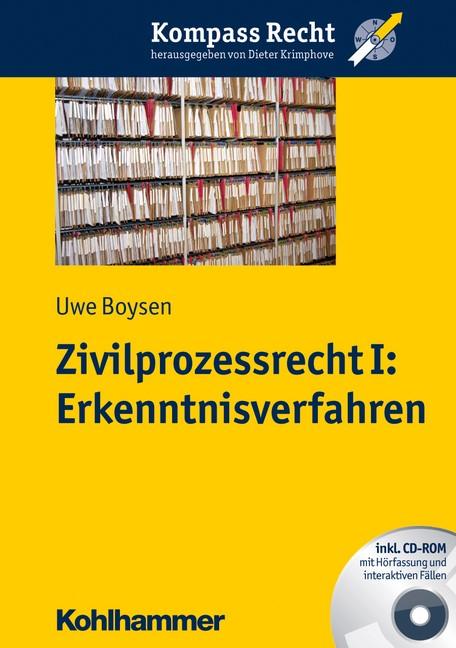 Zivilprozessrecht I | Boysen, 2012 (Cover)