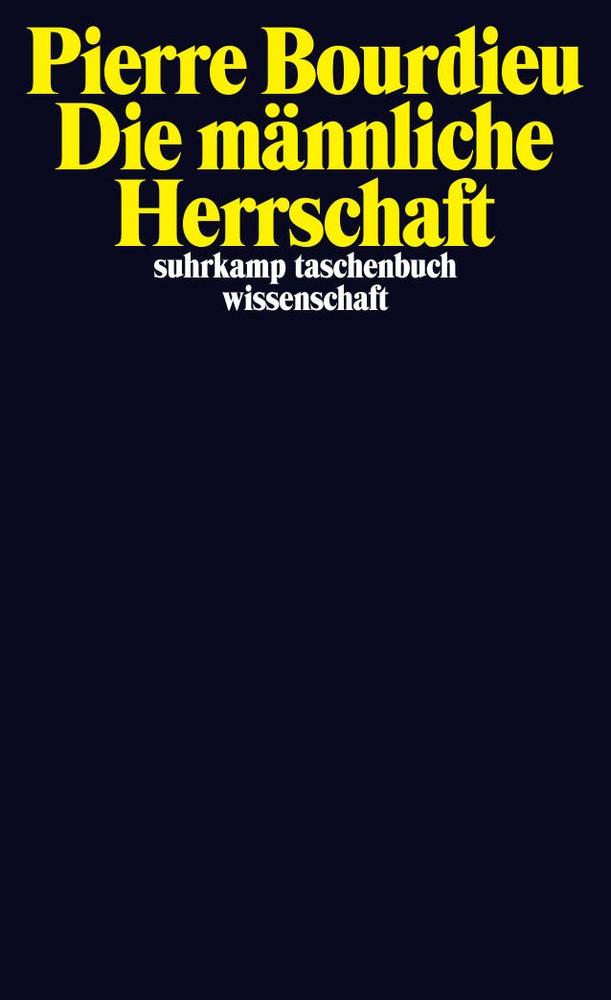 Die männliche Herrschaft | Bourdieu, 2012 | Buch (Cover)