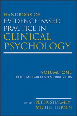 Abbildung von Hersen / Sturmey | Handbook of Evidence-Based Practice in Clinical Psychology | 2012 | Volume 1: Child and Adolescent...
