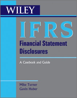 IFRS Financial Statement Disclosures | Turner / Huber, 2030 | Buch (Cover)